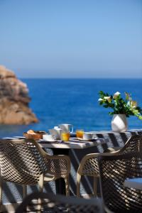 A balcony or terrace at Les Flots Bleus