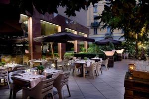 En restaurang eller annat matställe på Starhotels Ritz