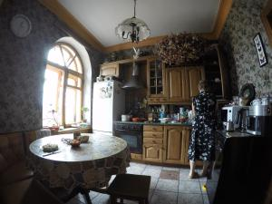 A restaurant or other place to eat at Homestay in Irkutsk