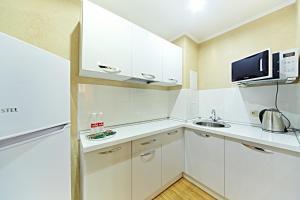Кухня или мини-кухня в Гостиница Брянск