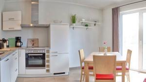 Küche/Küchenzeile in der Unterkunft Ferienhaus Friedrichsmilde