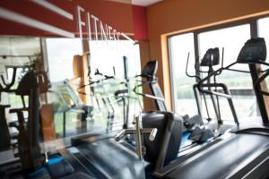 The fitness center and/or fitness facilities at stays by friends Gelsenkirchen