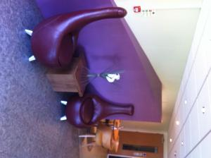 A seating area at Days Inn Warwick Northbound M40