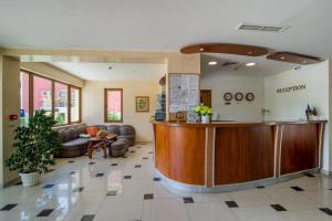 The lounge or bar area at Atlant Hotel