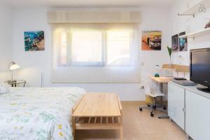 Una habitación en Apartamento La Higuera