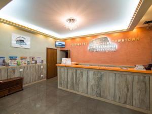 El vestíbulo o zona de recepción de Alessandro Downtown & Bar