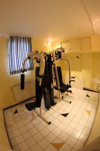 Das Fitnesscenter und/oder die Fitnesseinrichtungen in der Unterkunft Art-Hotel Erlangen