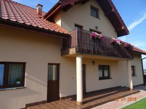 Balkon lub taras w obiekcie Willa ZŁOTY OGRÓD
