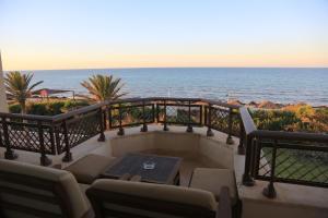 A balcony or terrace at Hasdrubal Prestige Djerba