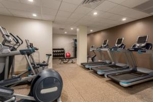 The fitness center and/or fitness facilities at Embassy Suites by Hilton Orlando International Drive ICON Park