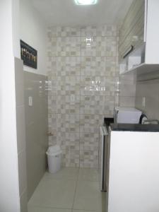 Um banheiro em Praia II de Copacabana