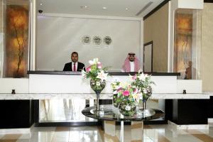 منطقة الاستقبال أو اللوبي في Plaza Business Hotel