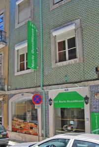 The facade or entrance of Norte Guest House