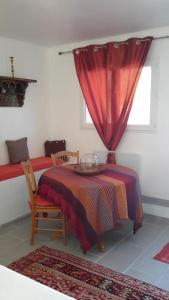 A bed or beds in a room at La Chambre De Salome
