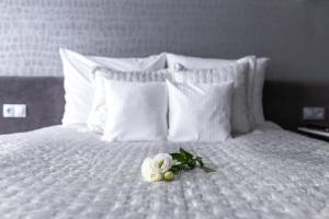 Łóżko lub łóżka w pokoju w obiekcie NOVApartments Seaside