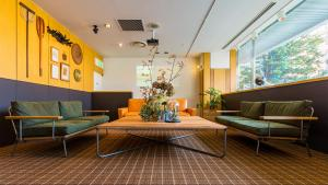 A seating area at Hotel Resol Hakodate