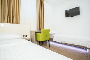 Een kamer bij Hotel National