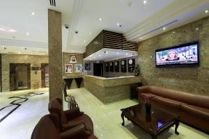 The lounge or bar area at President Hotel