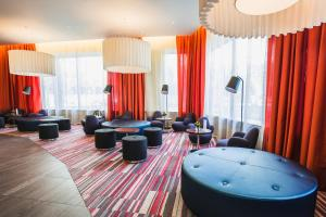 The lounge or bar area at Park Inn by Radisson Novosibirsk