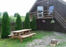 A porch or other outdoor area at Brīvdienu māja Audas