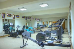Het fitnesscentrum en/of fitnessfaciliteiten van Giftun Azur Resort
