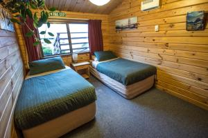 A room at YHA Mt Cook