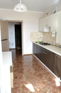 Кухня или мини-кухня в Апартаменты на Тургенева 10г