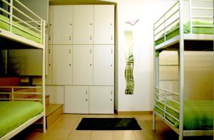A bunk bed or bunk beds in a room at Hostel Mare