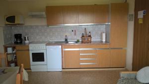 Küche/Küchenzeile in der Unterkunft Wagnerhof