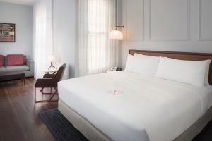 A room at Axiom Hotel