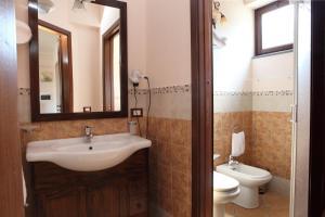 Bagno di Hotel Borgo Eolie