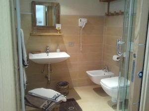 A bathroom at La Niche B&B