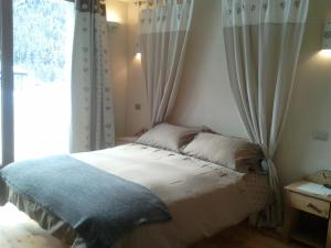 A room at La Niche B&B
