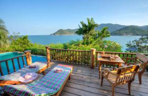 A porch or other outdoor area at Santhiya Koh Phangan Resort and Spa - SHA Plus