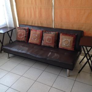 Zona de estar de Departamento Amoblado Av. Grecia
