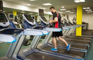 The fitness center and/or fitness facilities at Clayton Hotel Cardiff Lane