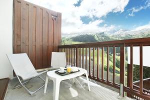 A balcony or terrace at Résidence Prestige Odalys Le Panoramic
