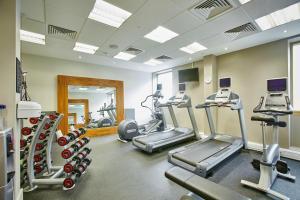 The fitness center and/or fitness facilities at Hilton Garden Inn Bristol City Centre