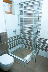 Kúpeľňa v ubytovaní Penzion pod Brezinou