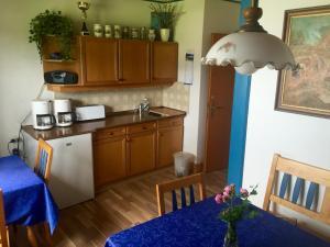 Küche/Küchenzeile in der Unterkunft Haus Kernstock