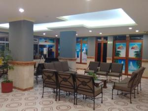 A restaurant or other place to eat at Hotel Caribe Internacional Cancun