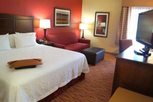 A room at Hampton Inn Altoona