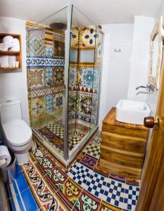 A bathroom at Hotel Boutique Casa Isabel