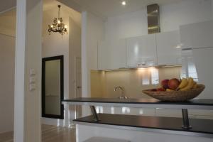 Kuchnia lub aneks kuchenny w obiekcie Apartament Krakowska