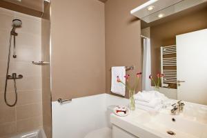 Salle de bains dans l'établissement Séjours & Affaires Paris-Vitry
