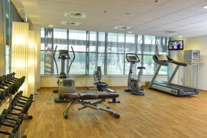 Het fitnesscentrum en/of fitnessfaciliteiten van Dutch Design Hotel Artemis