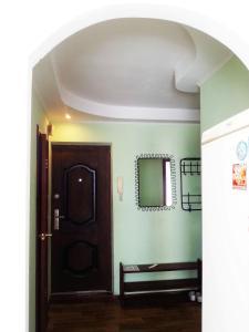Телевизор и/или развлекательный центр в Apartment on Lenina 128