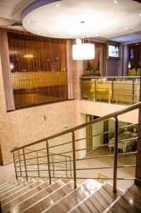 The lobby or reception area at Hotel Orlovetz