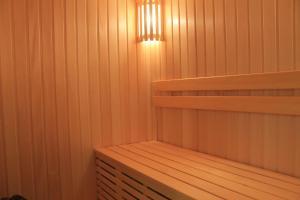 Двухъярусная кровать или двухъярусные кровати в номере Мотель Союз