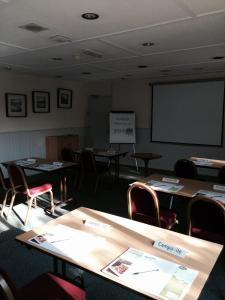 The business area and/or conference room at Campanile Hotel Cardiff